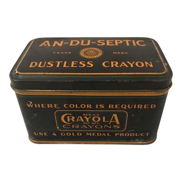 early 1900 s crayola crayon storage box chairish
