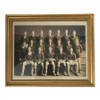 Framed Rugby Team Photo
