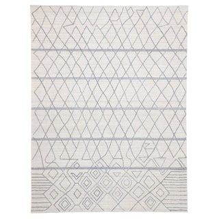 Contemporary Rug With Modern Moroccan Style - 8′10″ × 11′9″ For Sale