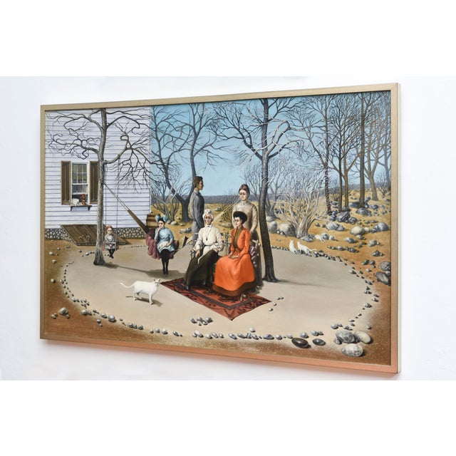 Early American Matriarch by Robert Springfels - 1970 For Sale - Image 3 of 3