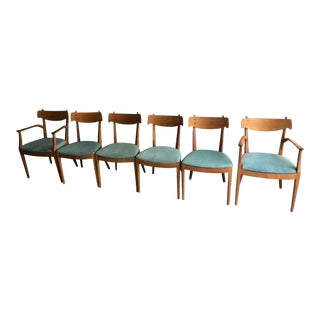 Mid Century Kipp Stewart Drexel Declaration Chairs - Set of 6 For Sale