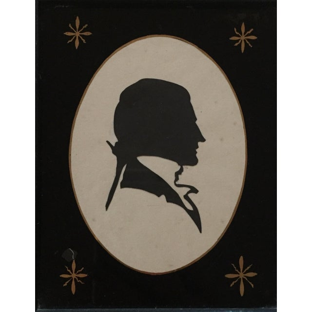 19th-C. Portrait Silhouettes - A Pair - Image 3 of 6