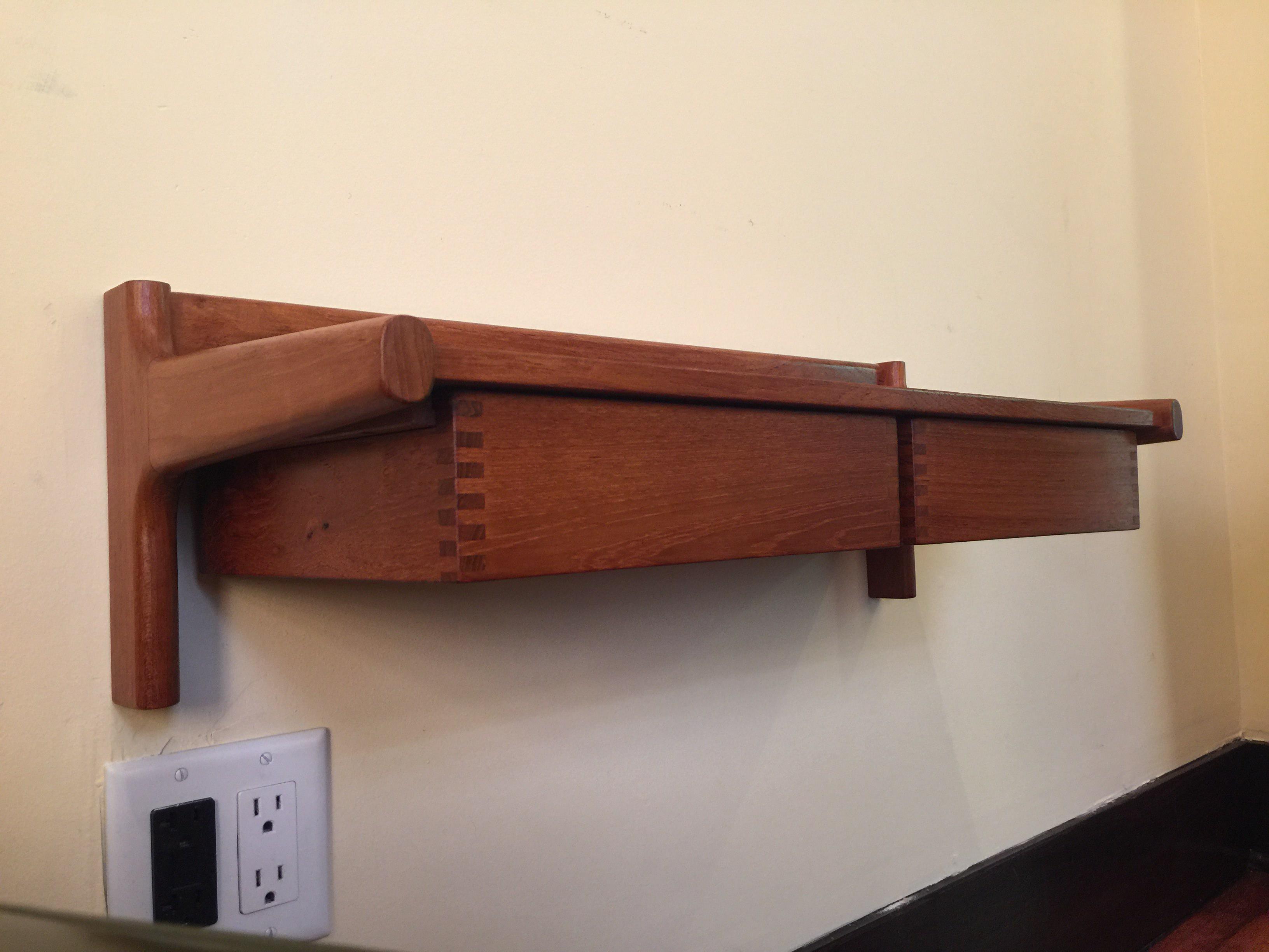 Borge Mogensen MidCentury Modern Danish Wall Mounted Shelf Chairish