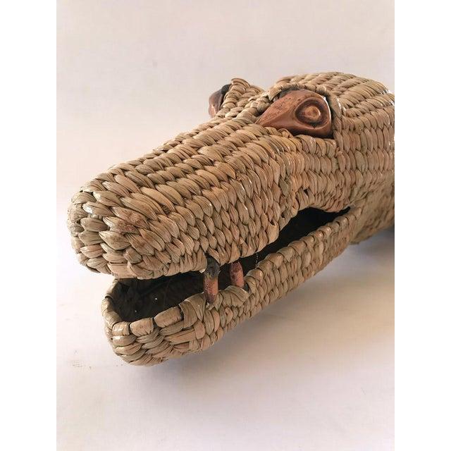 Folk Art Mario Lopez Torres Crocodile For Sale In Los Angeles - Image 6 of 7