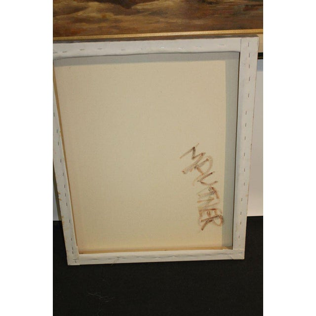 Nude Oil Painting on Canvas Signed Mautner For Sale In Palm Springs - Image 6 of 7