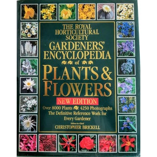 The Royal Horticultural Society Gardener's Encyclopedia of Plants & Flowers Book For Sale