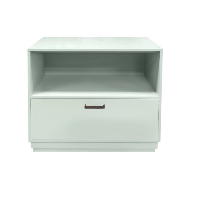 Minimalistic Maple Filing Cabinet From Garden Street in Ocean For Sale - Image 6 of 6
