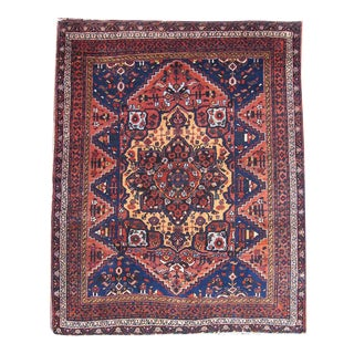 Persian Afshar Rug - 3′11″ × 4′9″ For Sale