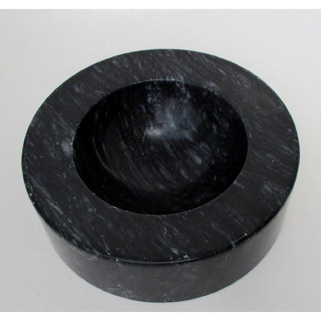 Vintage Black Marble Bowl - Image 5 of 7
