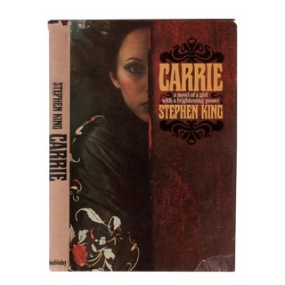 "1974 ""First Edition, Carrie"" Collectible Book For Sale"