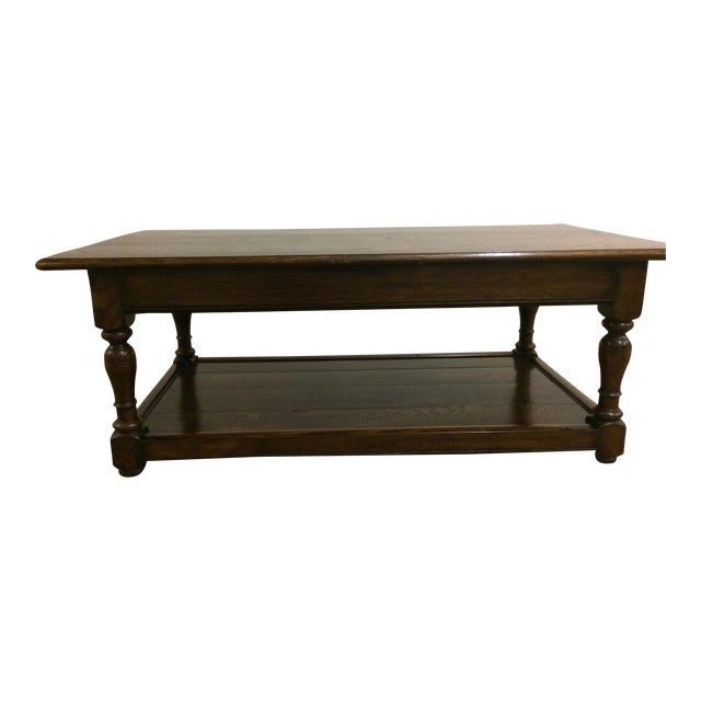 Sensational English Traditional Two Tiered Coffee Table Ocoug Best Dining Table And Chair Ideas Images Ocougorg