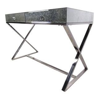 Contemporary Modern X Base Desk