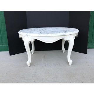 Antique Italian Marble Top Table Preview