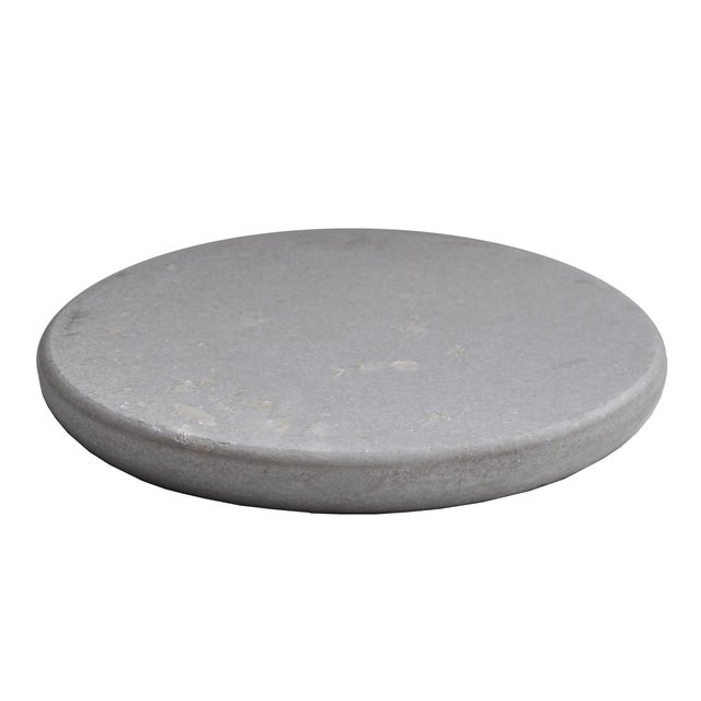 Round Marble Cake Stand For Sale - Image 5 of 7