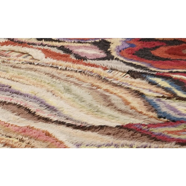 """Contemporary Boccara Hand Knotted Artistic Rug - """"Amazonia"""" For Sale - Image 3 of 7"""