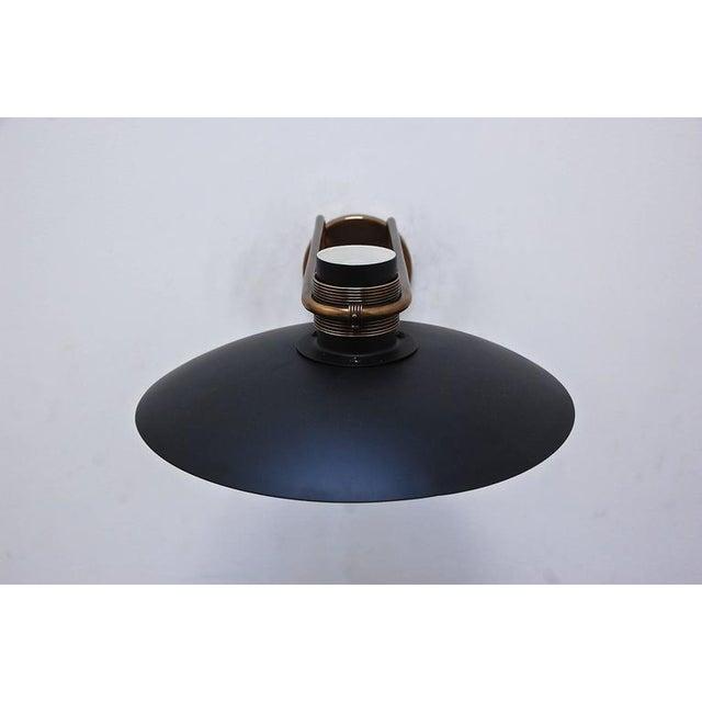 Brown Italian Studio Wall Lamp For Sale - Image 8 of 10