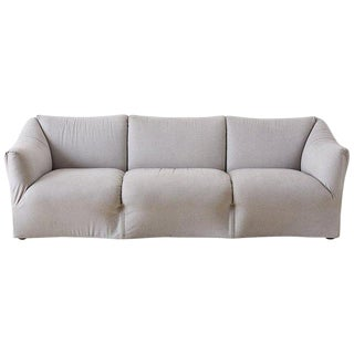 Mario Bellini for Cassina Tentazione Upholstered Sofa For Sale