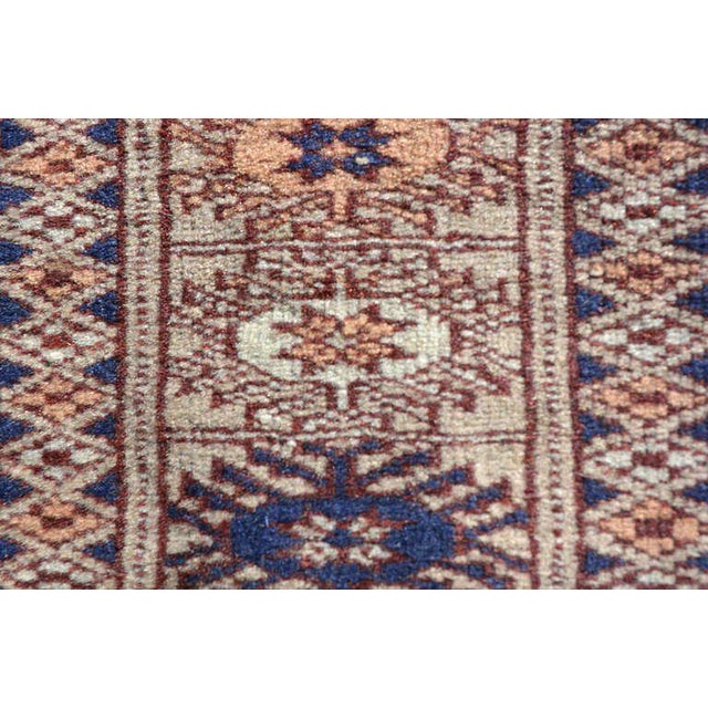 Antique Persian Praying Rug, 1920s For Sale In San Diego - Image 6 of 7