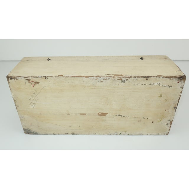Salvador Corona Mexican Folk Art Wood Box, C.1940 For Sale - Image 11 of 13