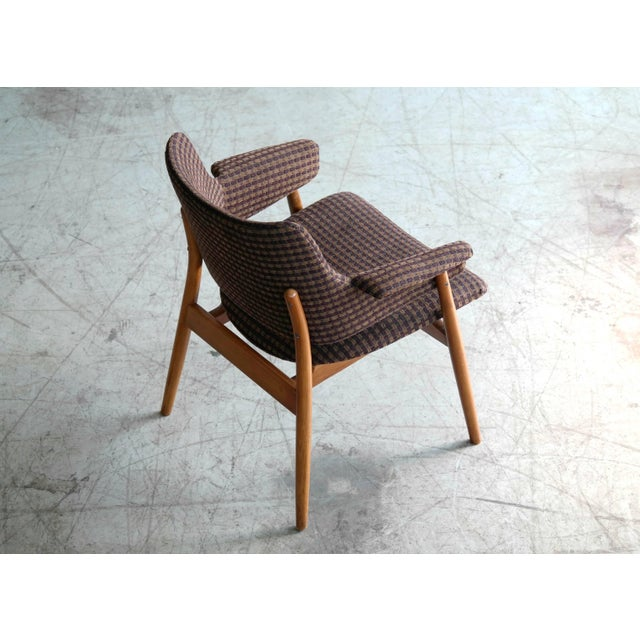Bramin Møbler Midcentury Hans Olsen Style Lounge or Accent Chair For Sale - Image 4 of 10