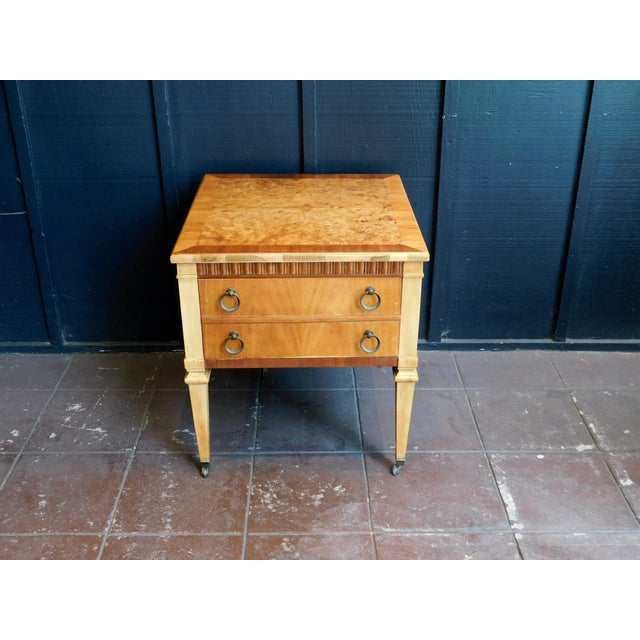 1960s Classic Wooden End Table For Sale In San Francisco - Image 6 of 11