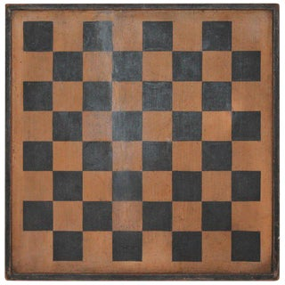 Gameboard Double-Sided 19th Century Original Paint For Sale