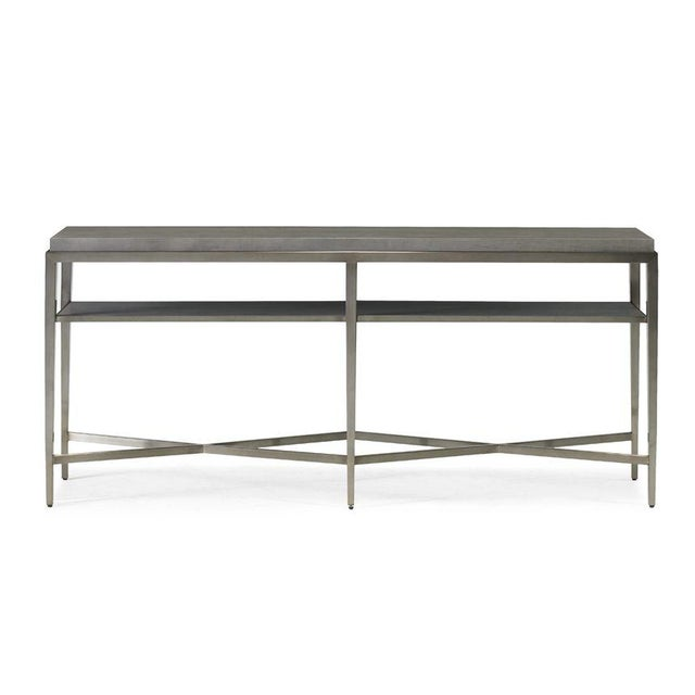 Modern Contemporary Lund Console Table from Kenneth Ludwig Chicago For Sale - Image 3 of 4