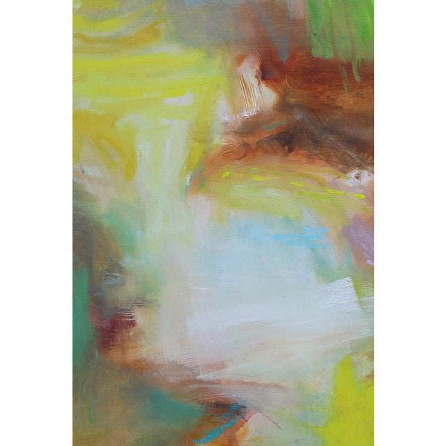 "Trixie Pitts ""Appalachian Spring"" Large Abstract Expressionist Oil Painting For Sale - Image 4 of 13"
