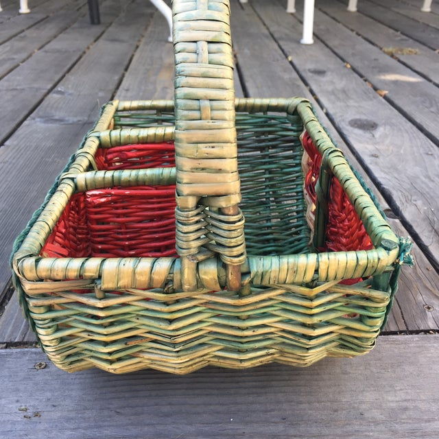 This summery basket is perfect for your next backyard party. Cute and functional! Store your silverware, napkins and...