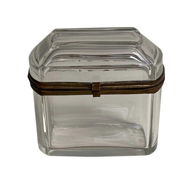 French 19th Century French Beveled Glass Box For Sale - Image 3 of 8