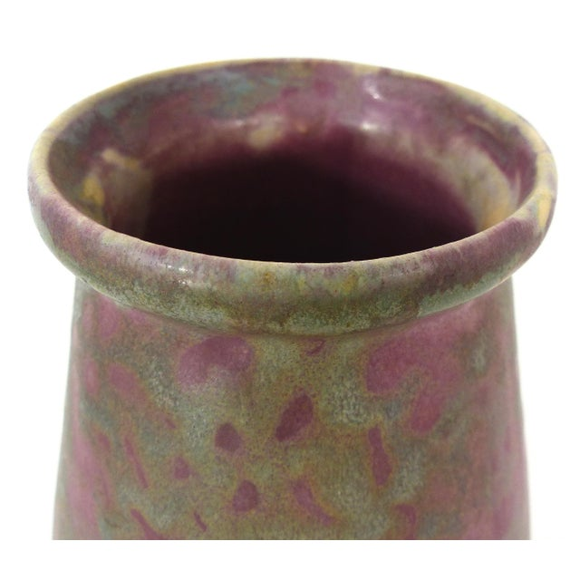 Vintage Burley Winter Conical Vase - Image 3 of 8