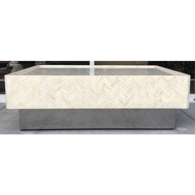 Tessellated Bone Coffee Table - Image 2 of 7