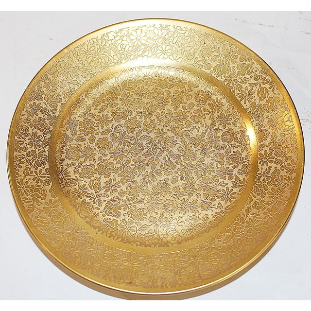 All-Over-Gold Serving Set - 7 Pieces For Sale - Image 9 of 9