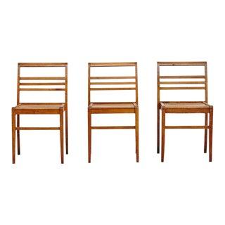Set of Three Chairs by Rene Gabriel, circa 1940