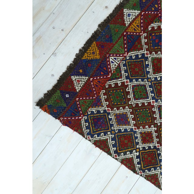 "Vintage Anatolian Kilim Runner-2'11'x11'2"" For Sale - Image 11 of 13"