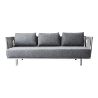 Cane-Line Moments 3-Seater Sofa For Sale