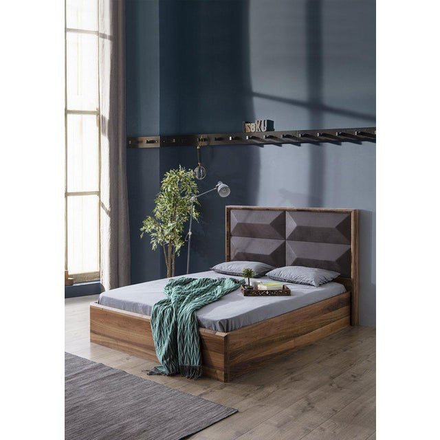 Statements By J Mario Upholstered Wood Bed - Image 2 of 5