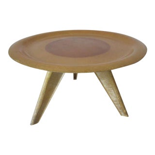 Eames and Zenith Styled Molded Fiberglass Table For Sale