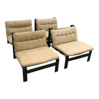 1970s Vintage Straub Chairs- Set of 4 For Sale