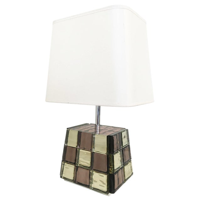 Riflesso Table Lamp by Effetto Vetro for Gaspare Asaro For Sale