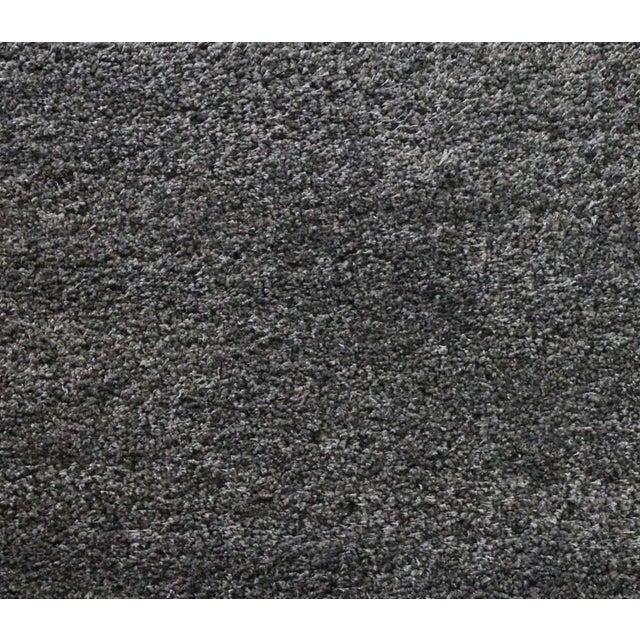 "Dark Gray and Charcoal Shag Rug - 5'4 ""x7'8'' - Image 5 of 6"