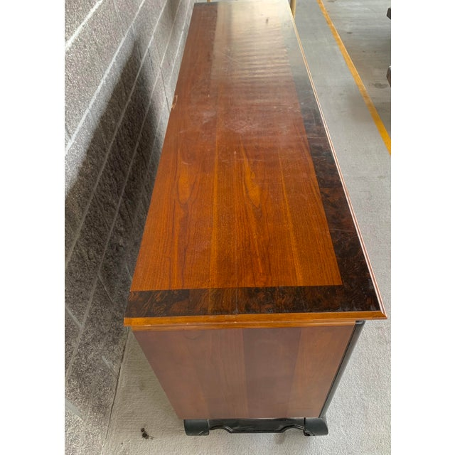 Vintage Oriental Nine Drawer Dresser For Sale - Image 10 of 13