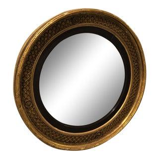 English Parcel Gilt Mirror For Sale