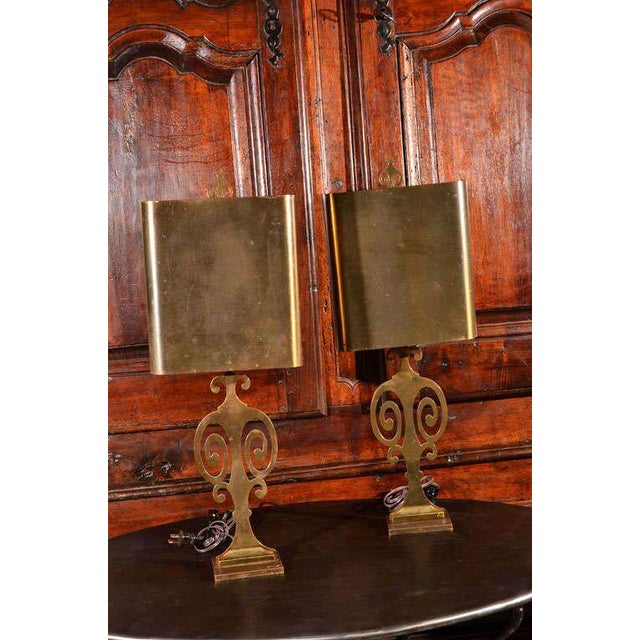 Pair Maison Charles Lamps - Image 2 of 7