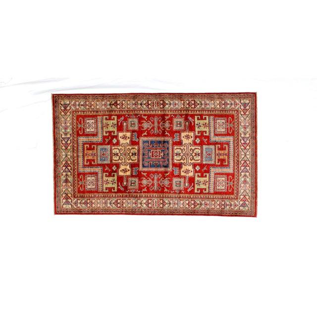 "Textile Leon Banilivi Khotan Ghanzi Wool Rug - 3'9"" X 6'3"" For Sale - Image 7 of 7"