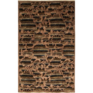 """Ziegler, Hand Knotted Area Rug - 5'2"""" X 8'2"""" For Sale"""