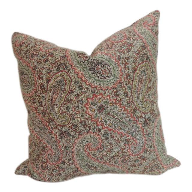 Ralph Lauren Paisley Decorative Pillow - Image 1 of 5