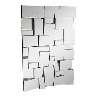 Neil Small Faceted Slopes Mirror For Sale