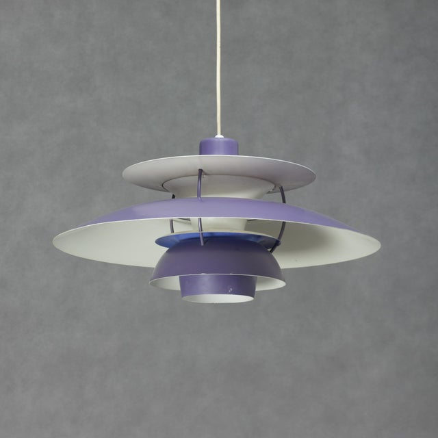 The pendant was designed to hang low above a table while at the same time giving a moderate light to the surroundings. The...