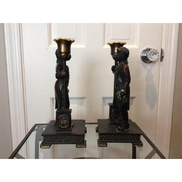 Monkey Candle Holder - A Pair - Image 4 of 4